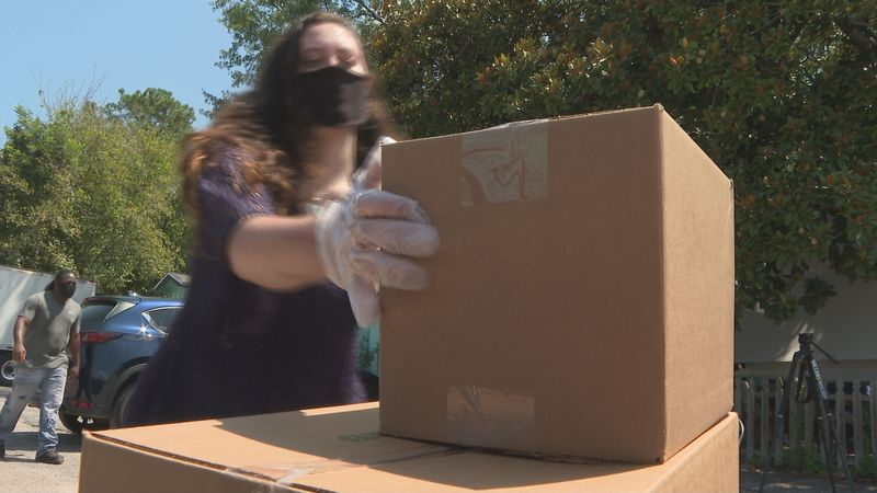 Food Assistance programs helps feeds dozens of families