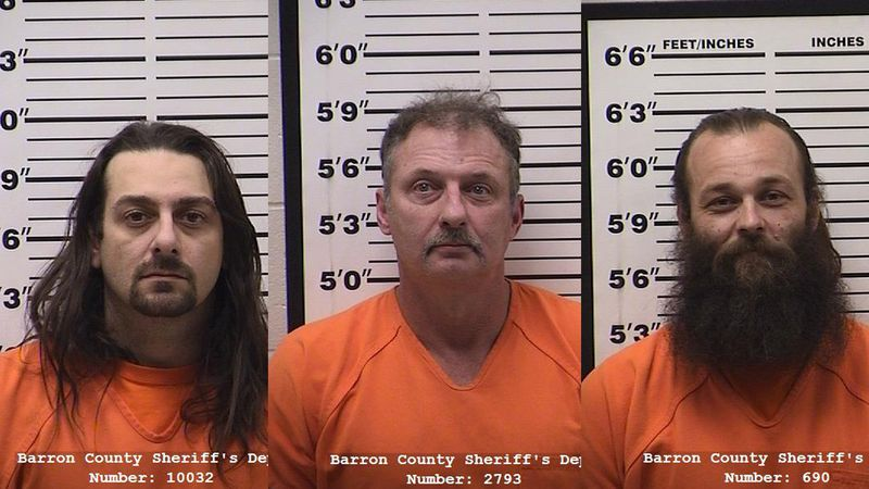 Barron County trailer theft suspects