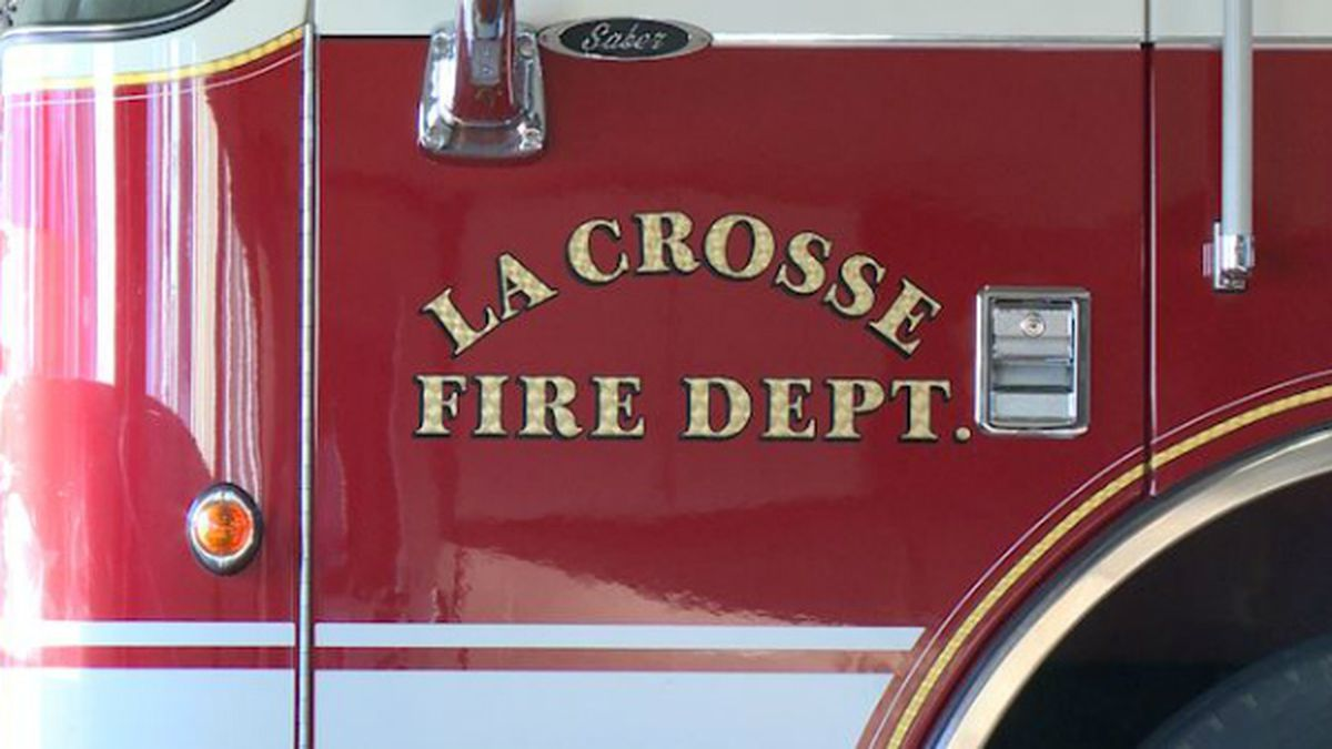 The fire was at a duplex near Powell Park south of Mayo Clinic Health Systems in La Crosse.