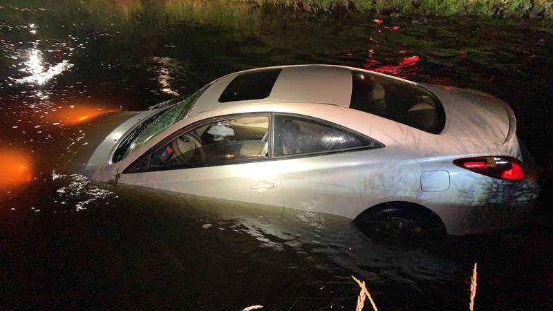 A car was found floating in the La Crosse River in Sparta on Friday, July 16, 2021. The driver...