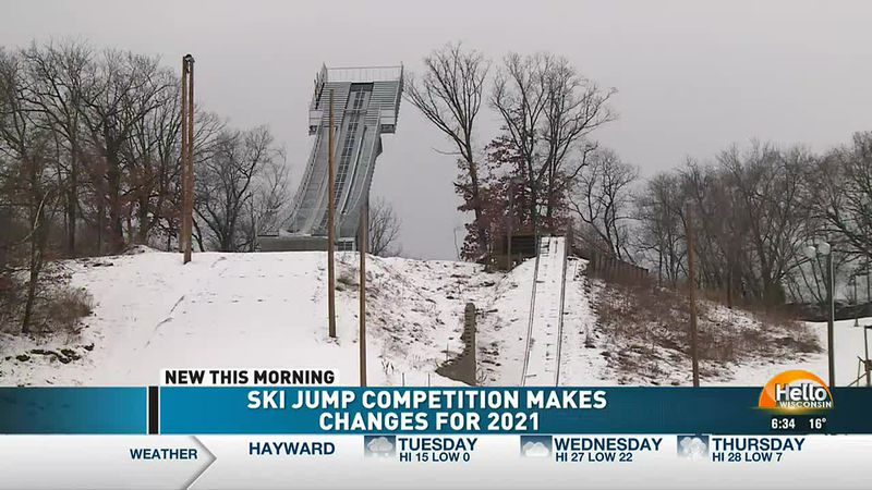 Ski Jump Competition Makes Changes For 2021 (1/19/21)