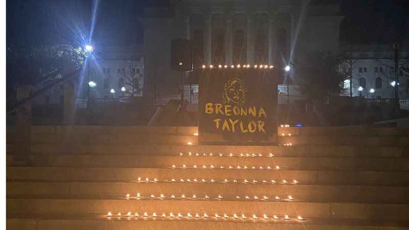 Vigil for Breonna Taylor in Madison