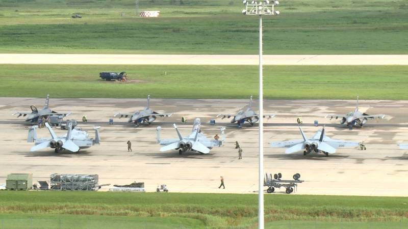 Northern Lightning exercise at Volk Field