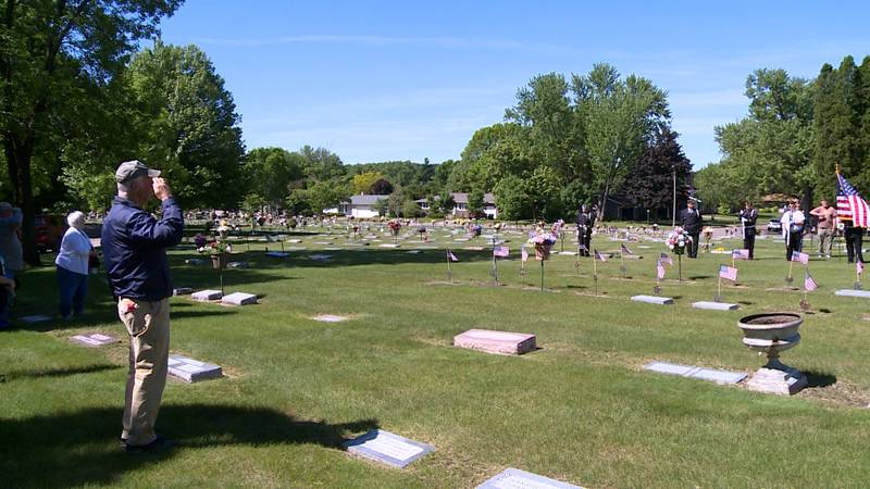 Memorial Day Service in Eau Claire