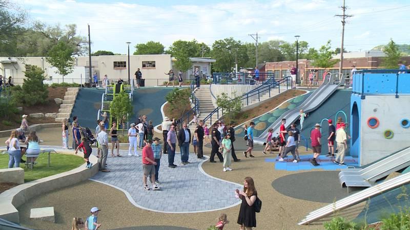 La Crosse's All Abilities Trane Park is now open