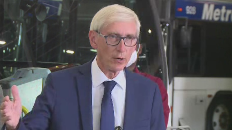 Gov. Evers on transit contributions