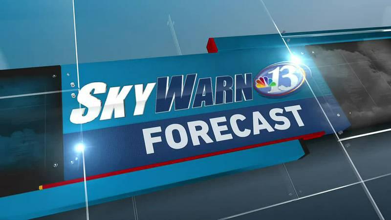 SkyWarn 13 Forecast 10/17/2021