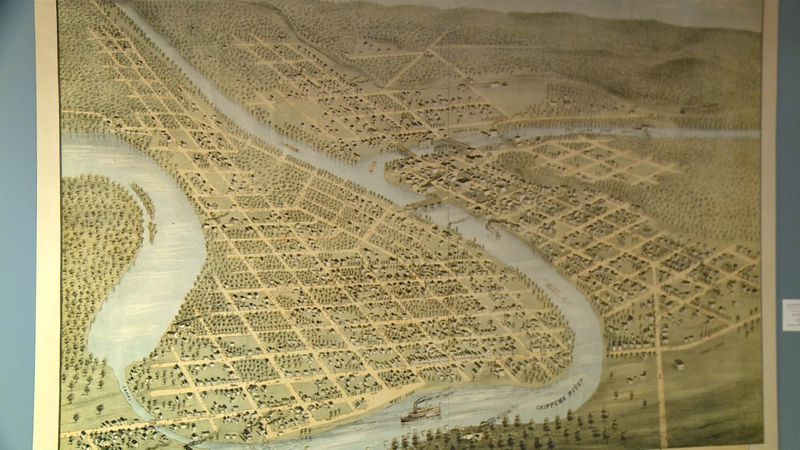 The city of Eau Claire was born on March 19, 1872.
