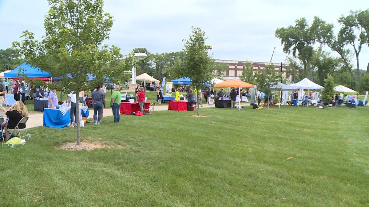 outdoor job fair