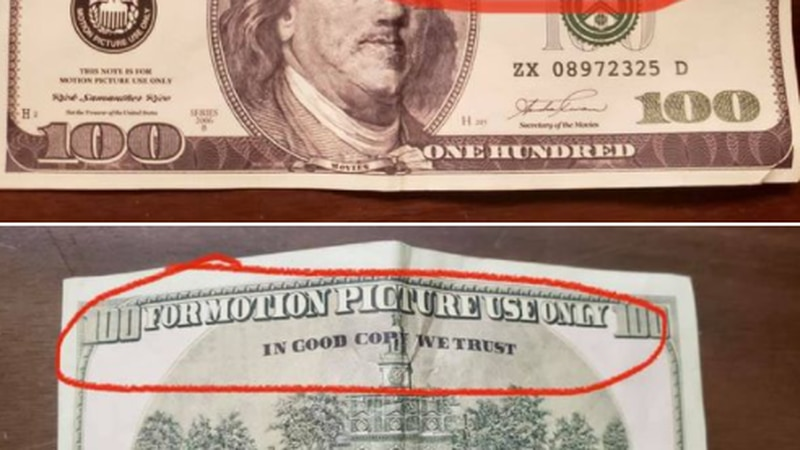 Augusta Police warn of fake $100 bills circulating.