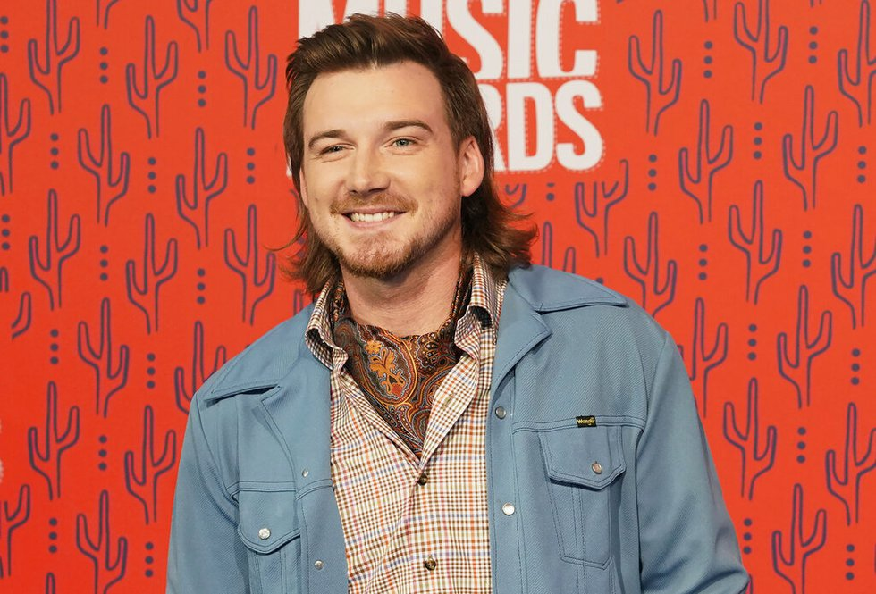 In this June 5, 2019, file photo, Morgan Wallen arrives at the CMT Music Awards in Nashville,...