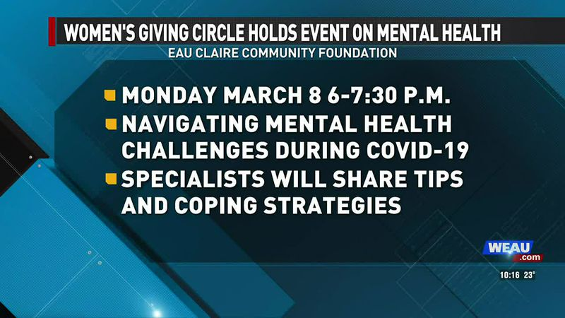 Women's Giving Circle Holds Event On Mental Health (2/28/21)
