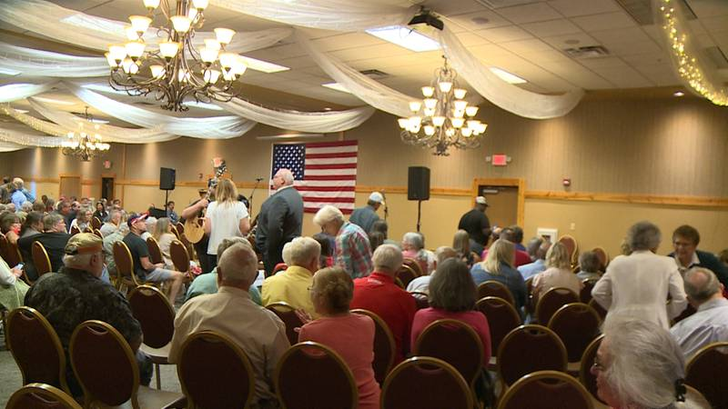 Liberty Fest was held in Wheaton with notable speakers