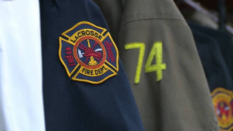 Crews responded after getting a report about the group being stranded at 7:52 p.m. Saturday.