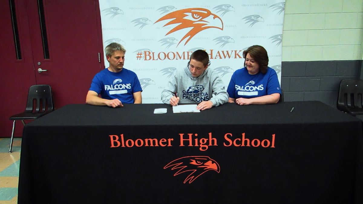 Bloomer signing day
