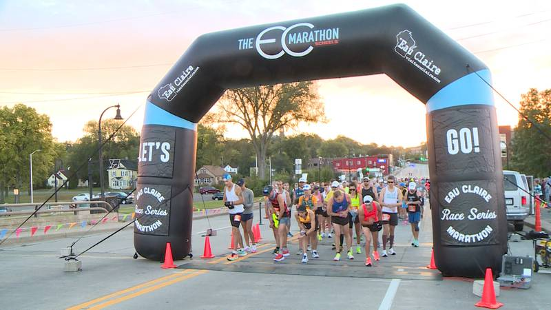 Over 2,000 runners took part in the 2021 Eau Claire Marathon and other events on Sunday, Sept....