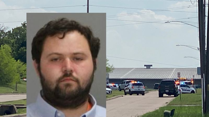 Larry Bollin, 27, is charged with murder after a shooting at a Bryan business.