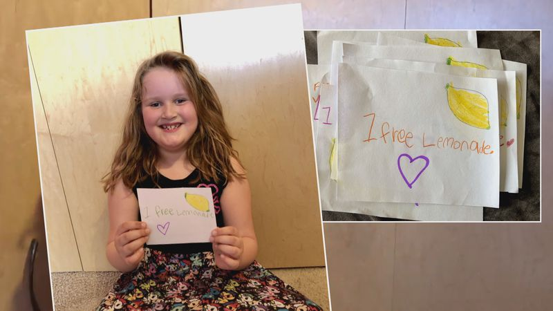 Morgan Marsh-McGlone thanks her donors with hand-drawn coupons, available to redeem later in...