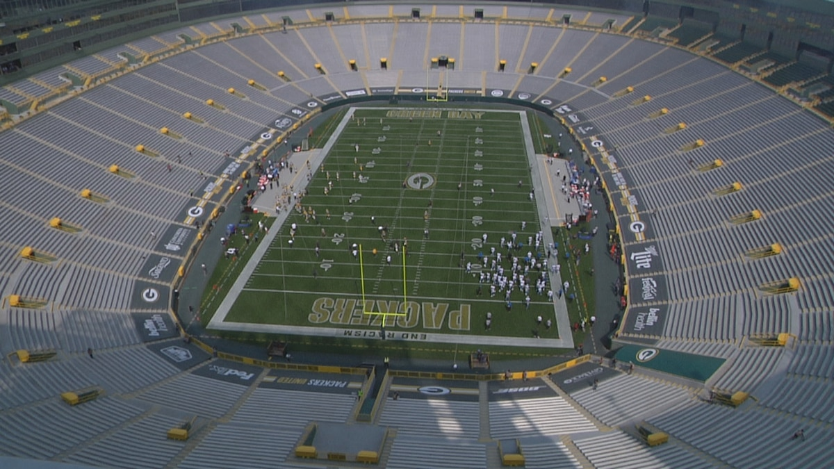 No fans at Packers home game