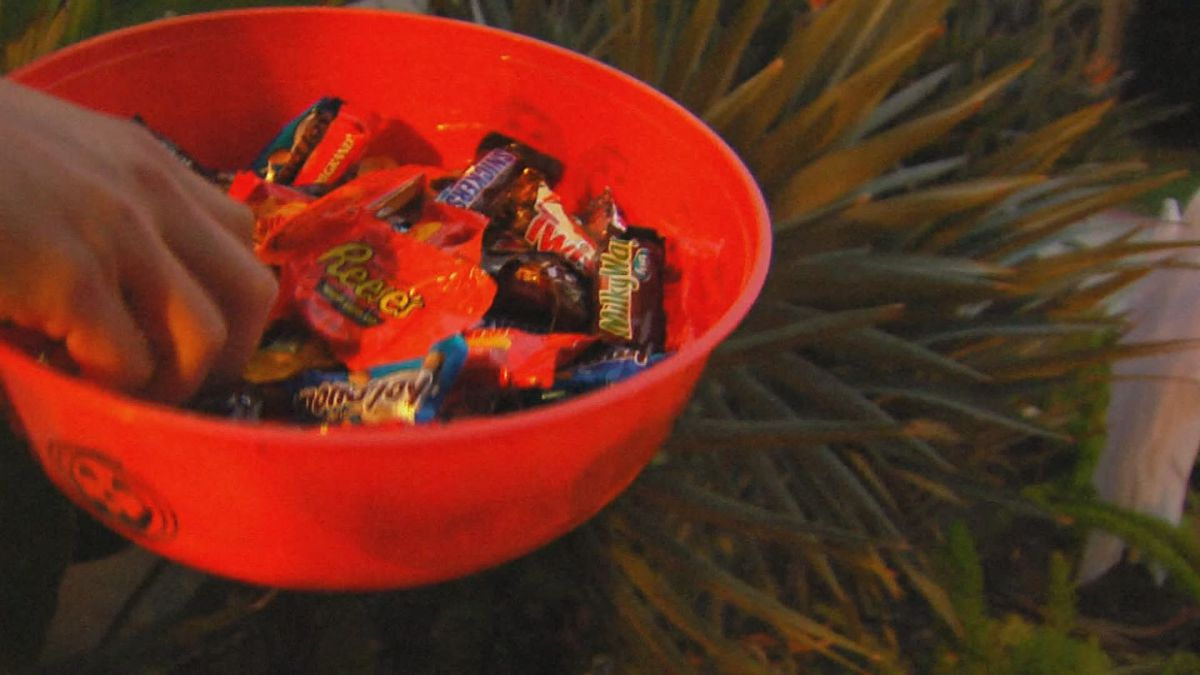 Trick or treating during the pandemic