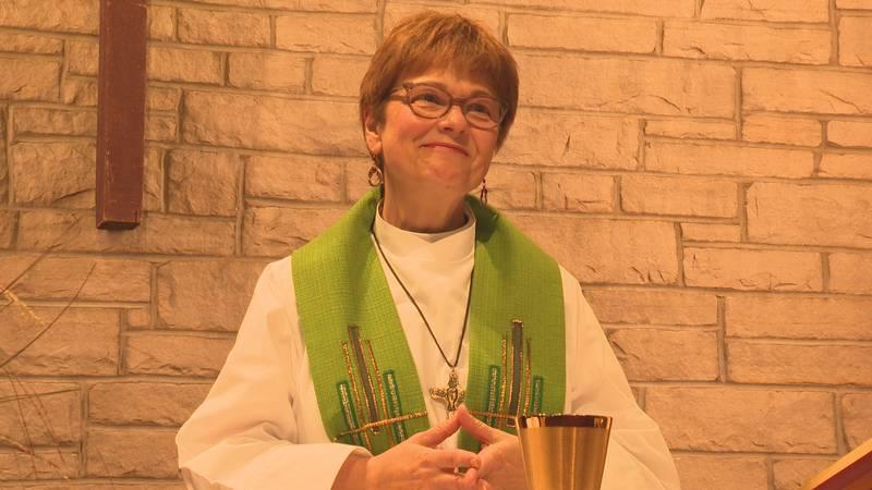 Pastor shares her story as a domestic violence survivor.