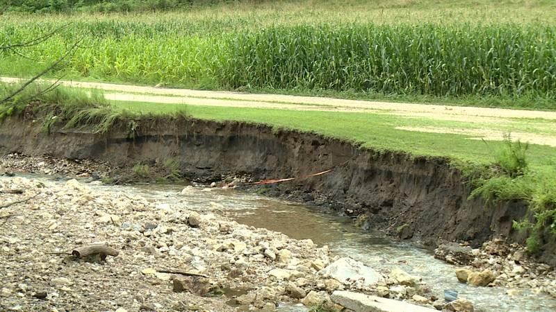 Vernon County flood damage