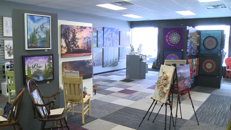 Retail art gallery in Eau Claire