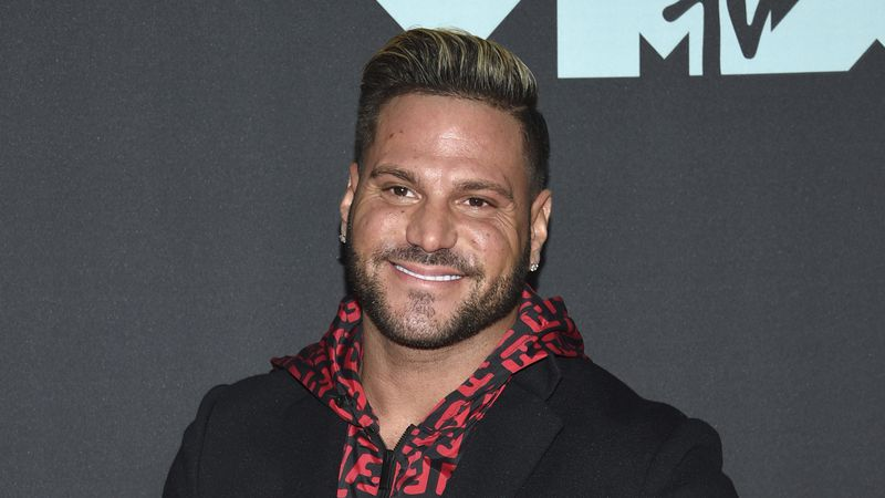 """This Aug. 26, 2019 file photo shows """"Jersey Shore"""" cast member Ronnie Ortiz-Magro at the MTV..."""