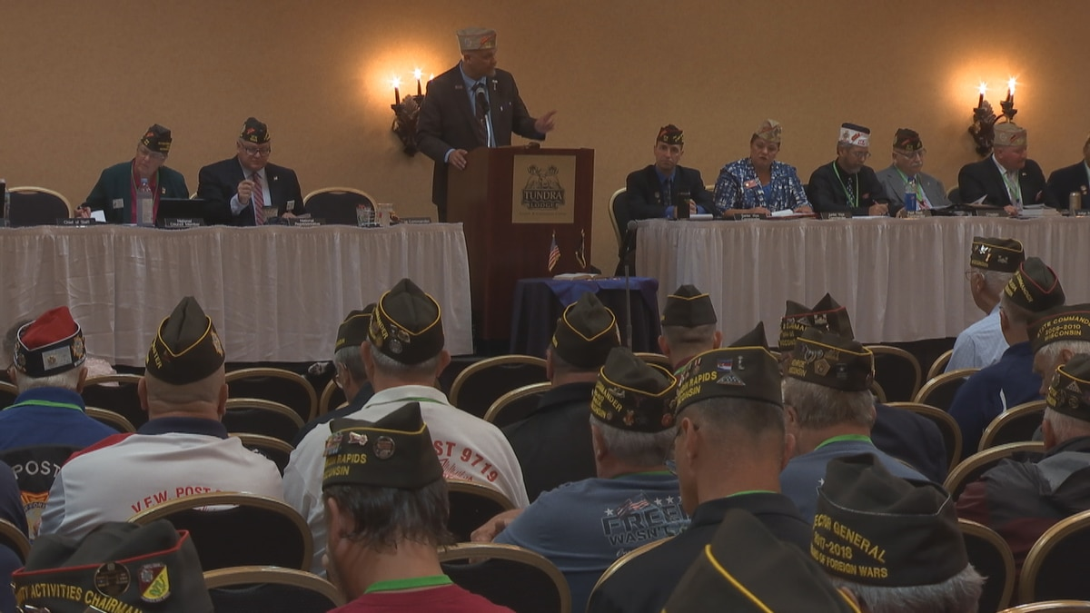 The 2021 VFW State Convention at the Tundra Lodge in Green Bay marks the veteran organization's...