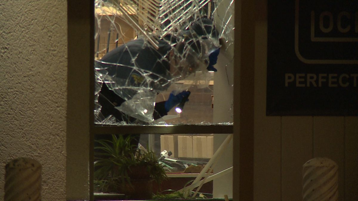 Police are investigating an overnight break-in at General Coin & Gun Exchange in Eau Claire.