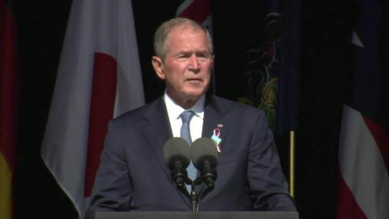 Former President George W. Bush will headline a fundraiser for top Donald Trump critic Liz...