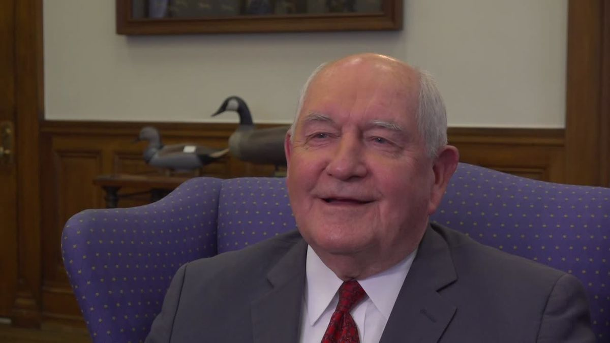 USDA Secretary Sonny Perdue explains the reforms being made to SNAP food assistance. (Source: Gray DC)