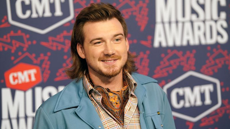 Morgan Wallen arrives at the CMT Music Awards in Nashville, Tenn. on June 5, 2019. Wallen has...