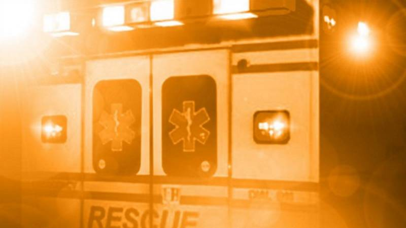 Authorities responded to a two-vehicle crash on S. Washington Street at E. Elm Street in the...
