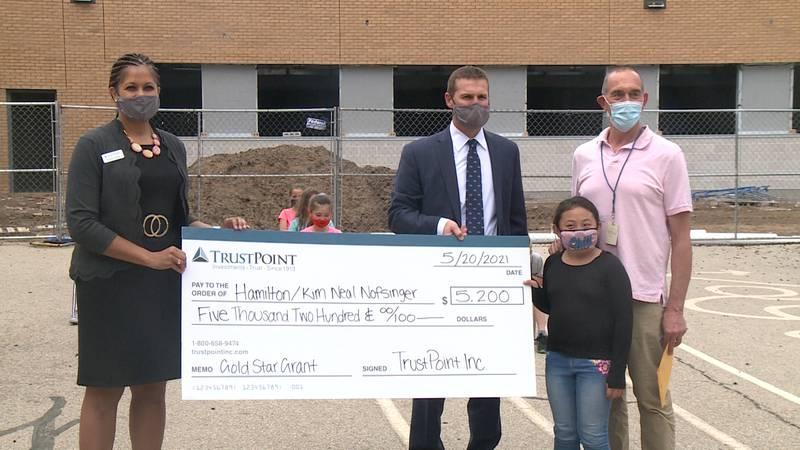 Hamilton-SOTA 1 School is awarded a Gold Star Grant