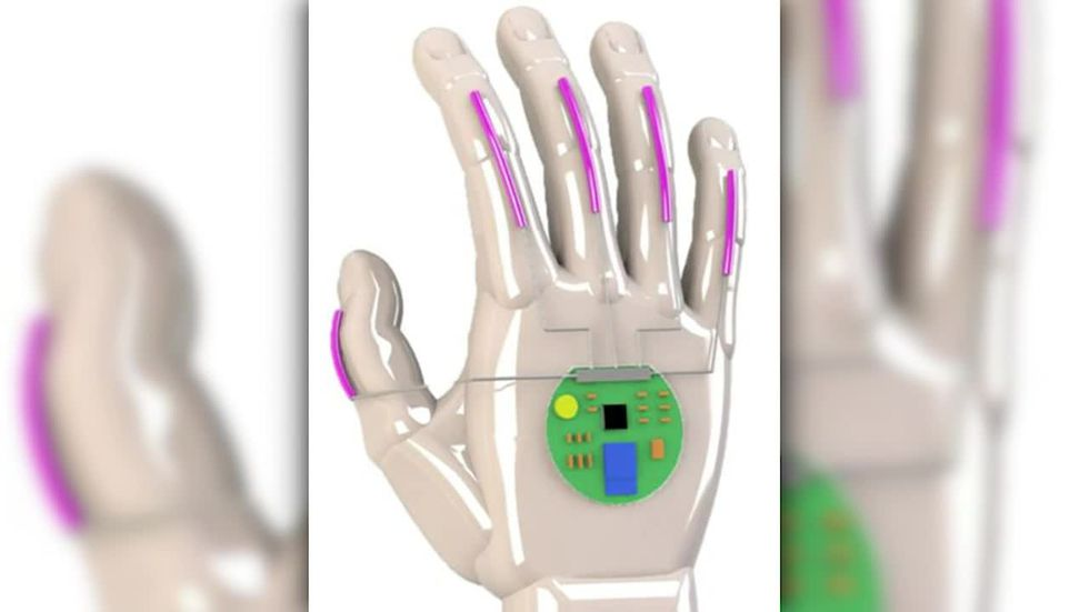 UCLA scientists have developed a glove that translates American Sign Language into speech in real-time.
