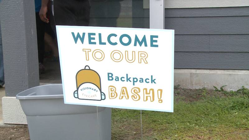 Visionary Eyecare hosts 4th annual Backpack Bash