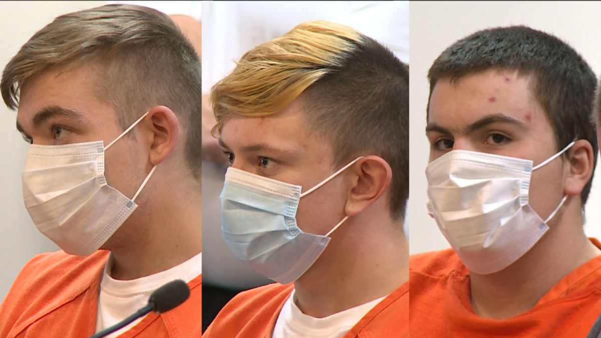 Three suspects in a double homicide case appeared in court.