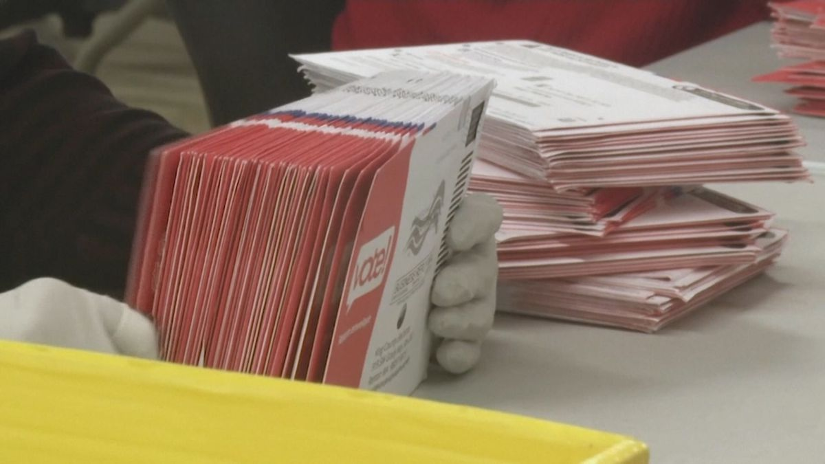 At a meeting on Tuesday, the Wisconsin Elections Commission reviewed where the state was at...