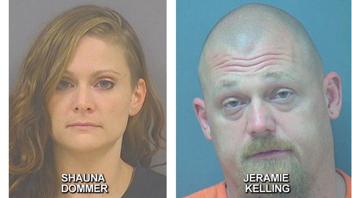 Shaun Dommer and Jeramie Kelling were both arrested after stolen vehicles were found.