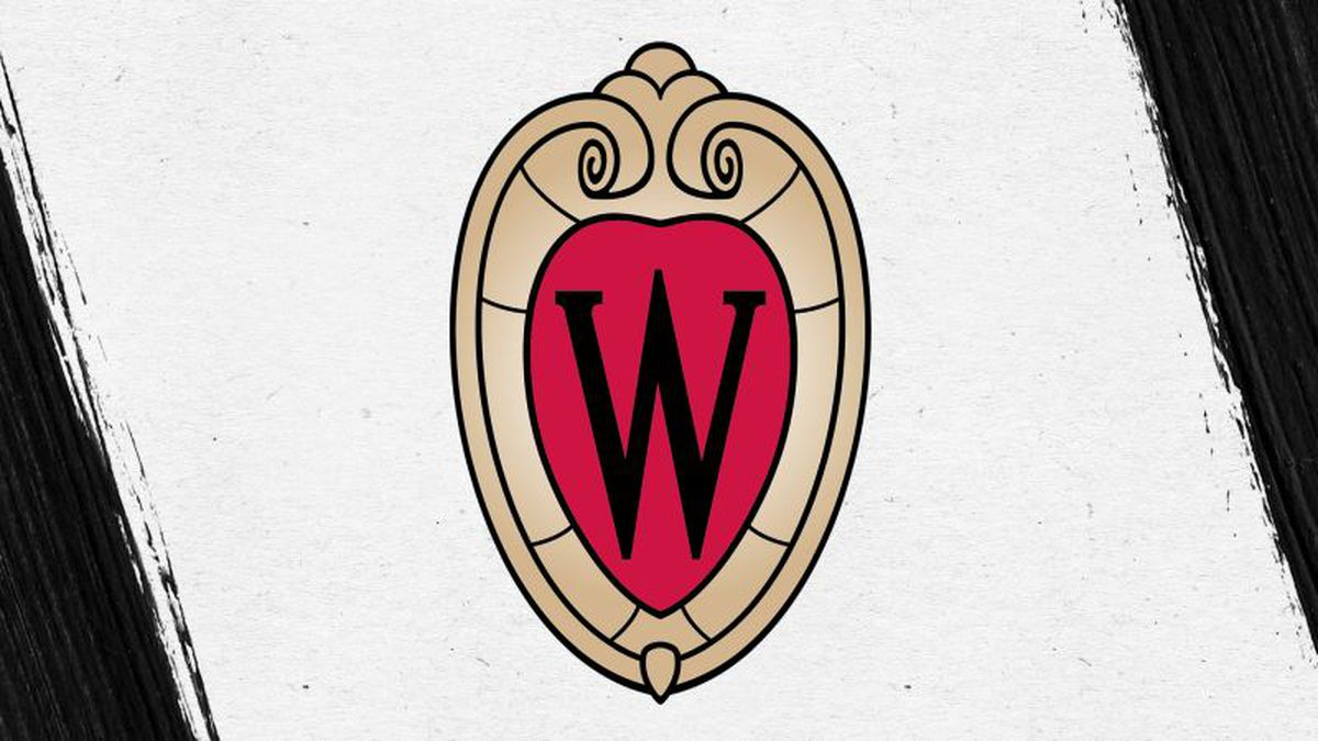 The revised logo for Badgers' uniforms